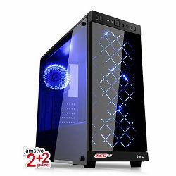 Stolno računalo MSG Ryzen Power a122 (AMD Ryzen 5, 8GB RAM, 120GB SSD, 1TB HDD, NVIDIA 4GB, FreeDOS, 600W)
