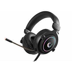 Slušalice s mikrofonom RAMPAGE RM-K11 X-Nova, RGB, 7.1 Surround Sound, PC/PS4/Xbox One, crne