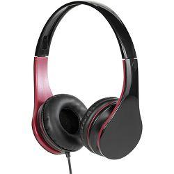 Slušalice VIVANCO Mooove crno-crvene