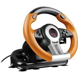 Volan SPEEDLINK DRIFT O.Z. Racing Wheel  za PC, crno-narančasti