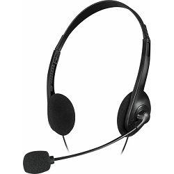 Slušalice SPEEDLINK Accordo, mikrofon, crne