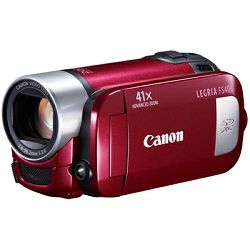 Video kamera CANON LEGRIA FS406 red + poklon 4GB SD kartica
