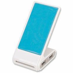 Phone Stand USB 2.0 Hub, 4 Ports, Bus Power
