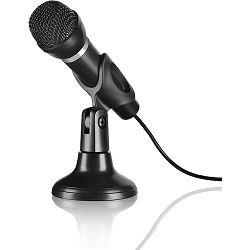 Mikrofon SPEEDLINK CAPO stolni i ručni sistem, crni
