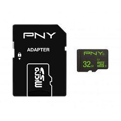 Memorijska kartica PNY SD MIKRO 32GB class10 + 1AD 100MB/S