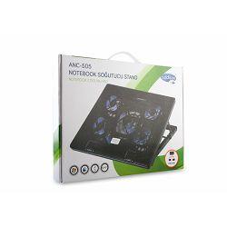 "Podloga za hlađenje ADDISON ANC-505, za laptop do 17"", crni"