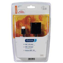 Adapter Vivanco HDMI®-VGA, HDMI® plug <-> VGA socket, aktivni adapter