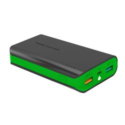Baterija externa POWER BANK REAL POWER PB-6k 6000 mAh crno- zelena