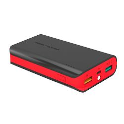 Baterija externa POWER BANK REAL POWER PB6K 6000 mAh crno-crveni