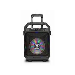 iDance karaoke Blue Tank 1, 100W,  BT, disco LED, FM, baterija, mikrof, kotačići