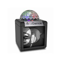 iDance zvučnik Bluetooth, disco kugla, 5W, baterija, crni NANO CN2
