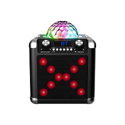 Party zvučnik iDance karaoke BC100L (50W, Bluetooth, USB, disco LED, baterija, mikrofon, daljinski upravljač)