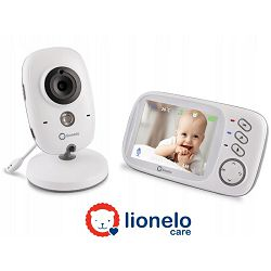 Lionelo dječji video monitor BabyLine 6.1, senzor temp, 8 uspavanki, domet 300m