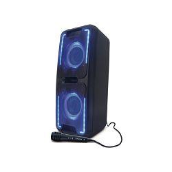 Party zvučnik MANTA SPK5028 karaoke FM, disco RGB ef, daljinski, mikrofon, baterija, Nike 3
