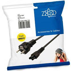 ZED electronic Kabel napojni za laptop, dužina 2.0 m (mickey mouse) - NC-PCL/2.0