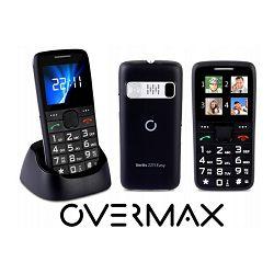 Mobitel OVERMAX VERTIS 2211 EASY, stanica za punjenje, SOS, velike tipke, FM, BT