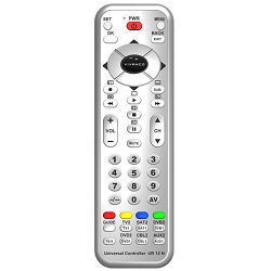 Daljinski upravljač VIVANCO UR 12 N, 12u1 univerzalni TV, DVB, srebrni