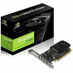 Grafička kartica NVIDIA Quadro P1000 GDDR5 4GB/128bit, 640 CUDA®  Cores