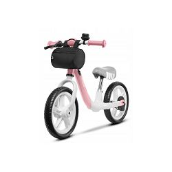 """Lionelo dječji bicikl - guralica Arie 12"""", 60 mjeseci jamstva, rozi"""