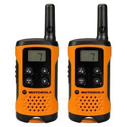 Motorola Walkie Talkie, domet 4 km, 8 kanala, orange - TLKR T41 OR