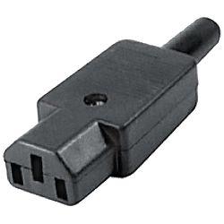 home Utikač za kabel, tropolni - AC 1A