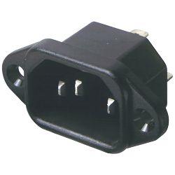 home Utikač za kabel, tropolni, ugradni - AC 2D