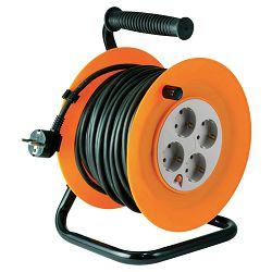 home Motalica za kabel, 40 met., H05VV-F, 3 x 1.0 mm², IP20 - HJR 4-40