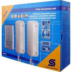 Interfon žični HOME DP 012, dvije unutrnje jedinice, elek. otvaranje