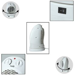 home Grijalica sa ventilatorom, +/- 90°, 2000W - FK 1/O