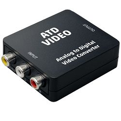 Analogno - digitalni video konverter HOME, 3 x RCA na HDMI - ATD VIDEO