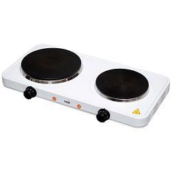 home Električno kuhalo, 2 ploče - 15/18 cm, 2500 W, crna - HG R 02