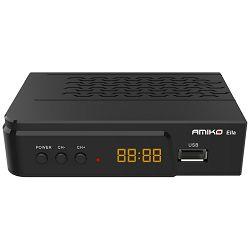 Satelitski prijemnik AMIKO DVB-S/S2, FTA, Full HD, H.265 - AMIKO ELLA FTA
