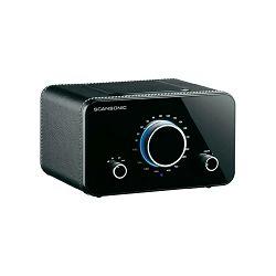 Stolni radio SCANSONIC R2 crna koža