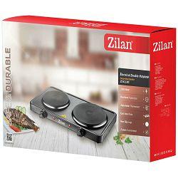 Zilan Električno kuhalo, 2 ploče - 15.5/18.5 cm, 2500 W, crna - ZLN2180/BK