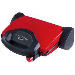 Zilan Grill kontaktni, LED indikator, 4 sendviča, 2000 W, crvena - ZLN9911/RD