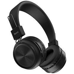 Slušalice s mikrofonom HOCO W25 Bluetooth - Promise Black (bežične)