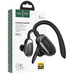 Handsfree slušalica HOCO sa mikrofonom, Bluetooth, 50 mAh, 3 h - E26 Plus Encourage Black