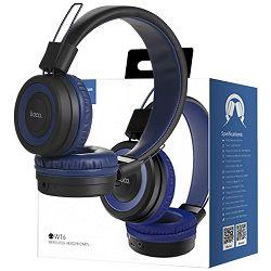 Slušalice HOCO W16 Bluetooth - Cool motion Blue (bežične)