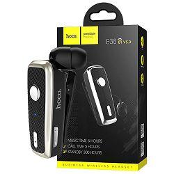 Handsfree slušalica sa mikrofonom HOCO, Bluetooth, 90 mAh, 5 h - E38 Business Black