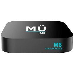 MediaLink Prijemnik IPTV@Linux Stalker+Android, UHD/4K, BT, WiFi, 2GB - MÜ M8