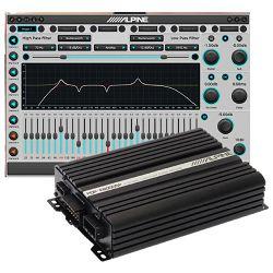 8-kanalno digitalno pojačalo APLINE PDP-E800DSP (sa procesorom)