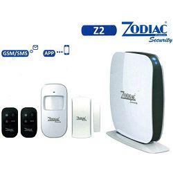 ZODIAC SET bežični alarmni sustav, GSM, do 50 senzora - Z2