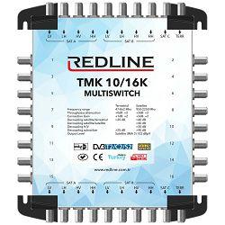 REDLINE Multišalter 2 satelita na 16 utičnica,kaskadni(bez adaptera) - TMK 10/16K