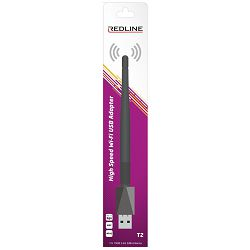 REDLINE Wi-Fi mrežna kartica, USB, 2.4 GHz, 2 dB, 150 Mbps, RT7601 - T2 WiFi antena