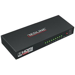 HDMI razdjelnik REDLINE HS-8000 1 ulaz - 8 izlaza