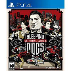 PS4 Igra Sleeping Dogs Definitive Edition