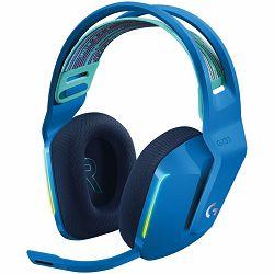 Slušalice s mikrofonom LOGITECH G733 LIGHTSPEED RGB Gaming plave (bežične)
