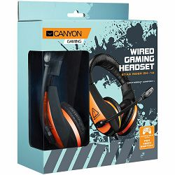 Slušalice s mikrofonom CANYON CND-SGHS1A Gaming headset, 3.5mm