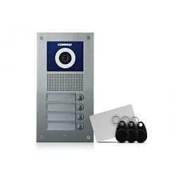 Vanjska podžbukna video jedinica COMMAX DRC-4UC/RFID (za 4 korisnika)