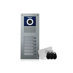 Vanjska podžbukna video jedinica COMMAX DRC-6UC/RFID (za 6 korisnika)